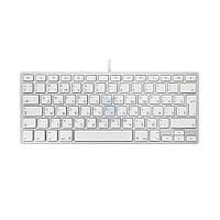 Проводная алюминиевая клавиатура, Apple Wired Keyboard, без картонной упаковки (Раскладка - US / RU, официальная) (MB869RS)