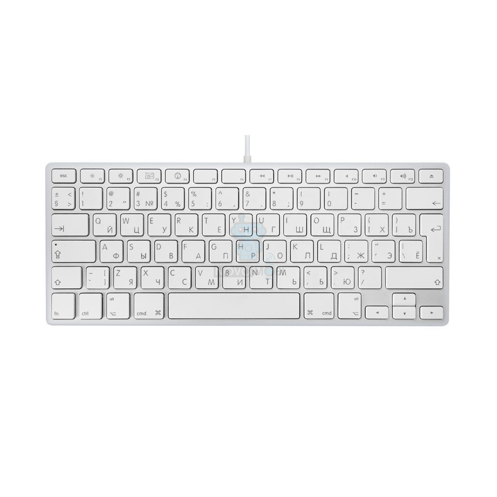 Проводная Алюминиевая Клавиатура, Apple Wired Keyboard, Без ...