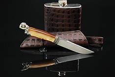 """Авторский подарочный мужской набор с ножом и флягой """"Men's desires"""" (наличие уточняйте)"""