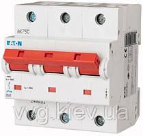 Автоматический выключатель PLHT-C63/3 EATON