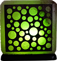 Соляной светильник, Шарики, Вес 3-4кг; Размеры: 16*16*7см