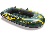 Надувная Лодка Intex Seahawk 236*114*41 На 2 Человека