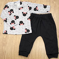 Комплект детский MirAks SCL-5289-00 Black (Черный/кофта + штанишки/интерлок)