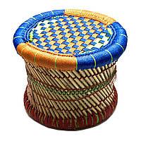 Табурет плетеный