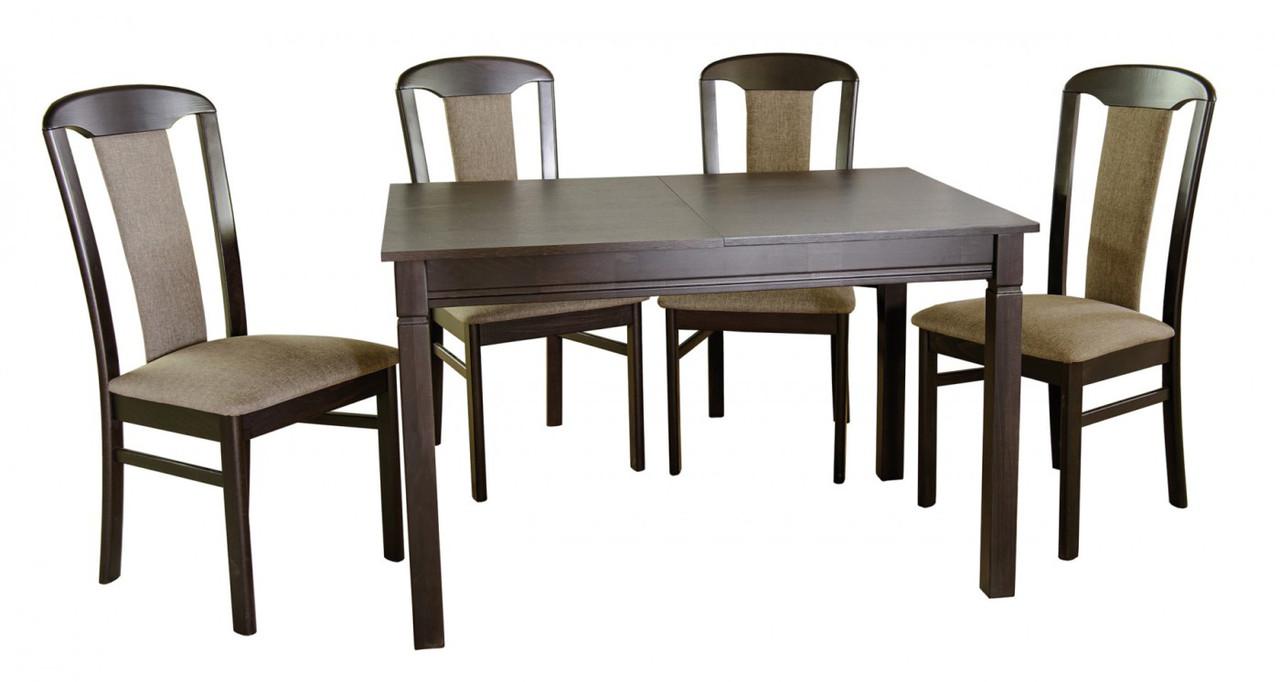 """Стіл кухонний обідній з дерева розсувний """"Карпати"""" Мебель Сервіс"""