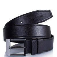 Мужской кожаный ремень y.s.k. shi5-2028-1 черный