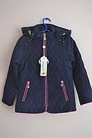 Детская демисезонная куртка для девочки. Размеры 110 - 134.