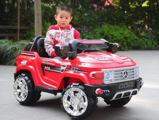 Детский Электромобиль Джип Mercedes CH922 красный на радиоуправлении
