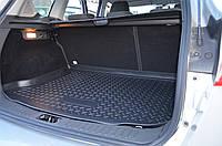 Коврик багажника  Peugeot 206 SD (06-09) п/у