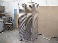 Двойной стеллаж-шпилька для противней 910х605х1800мм