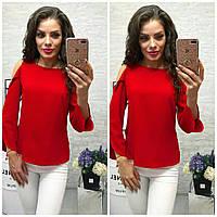 Блуза женская, модель 901/2, цвет - красный, фото 1