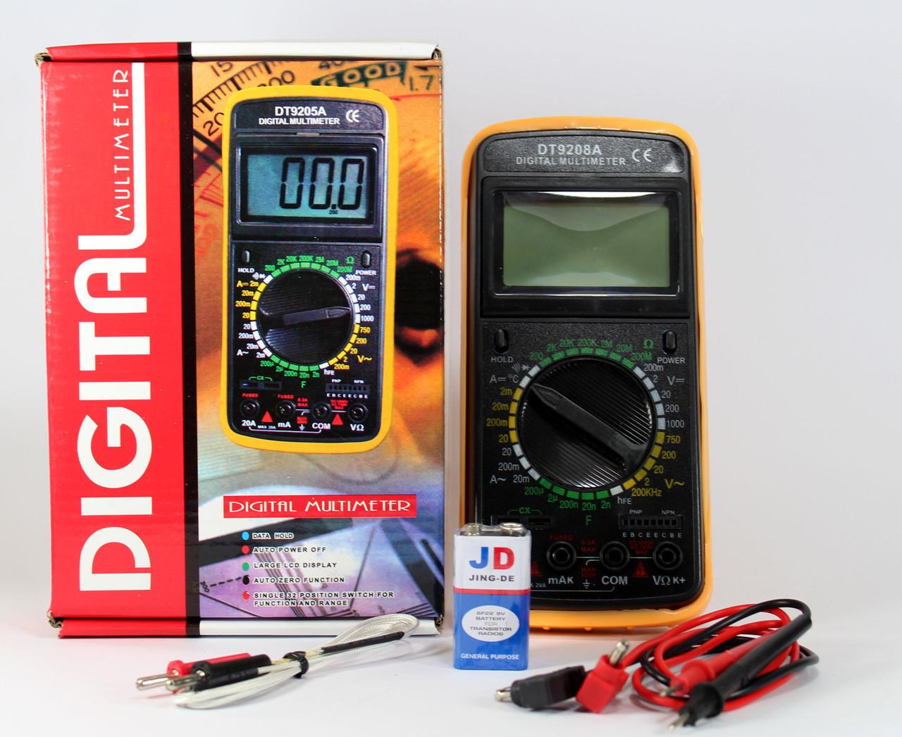 Мультиметр DT 9208  40