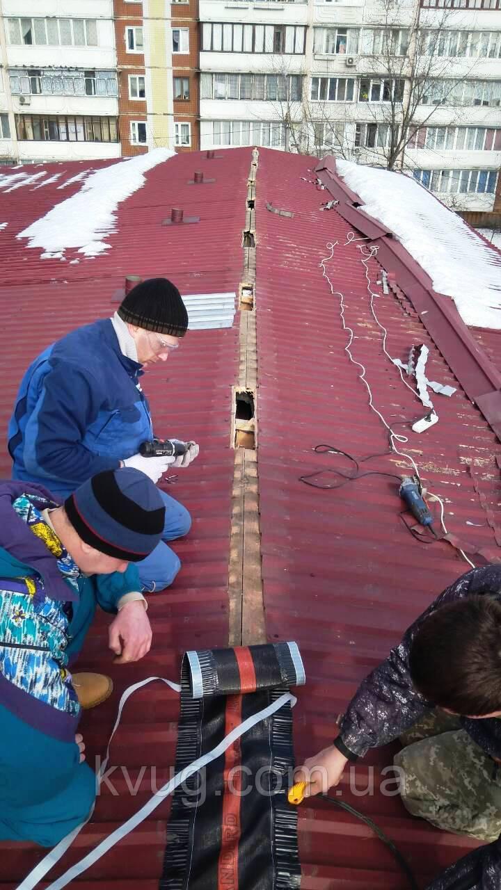 Вентиляция крыши, монтаж, проверка, фото 1