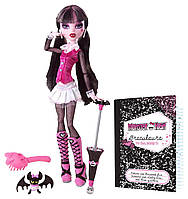 Monster high Draculaura Дракулаура базовая с питомцем