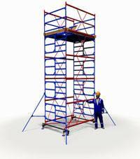 Вышка тура ПСРВ 2,0х2,0м комплект (4+1), рабочая высота 7,4м