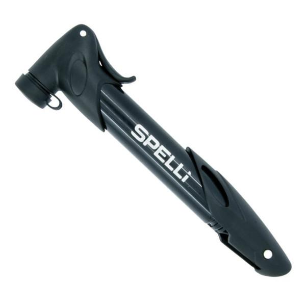 Насос велосипедный Spelli SPM-177 телескопический
