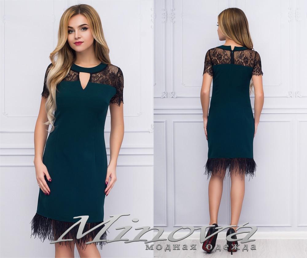 9d2c782837b Купить Привлекательное женское платье с перьями размеры S-ХL оптом и ...