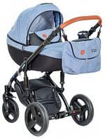 Детская коляска универсальная 3 в 1 Verdi Mirage 05 blue (Верди Мираж, Польша)