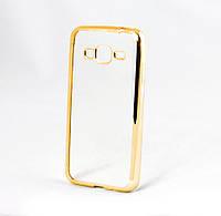 Накладка-чехол GlobalCase Xiaomi Redmi 4X (TPU) Electro Gold Silver