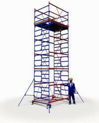 Вышка тура ПСРВ 2,0х2,0м комплект (5+1), рабочая высота 8,6м