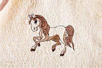 Пеленка для купания махровая Пони, фото 1