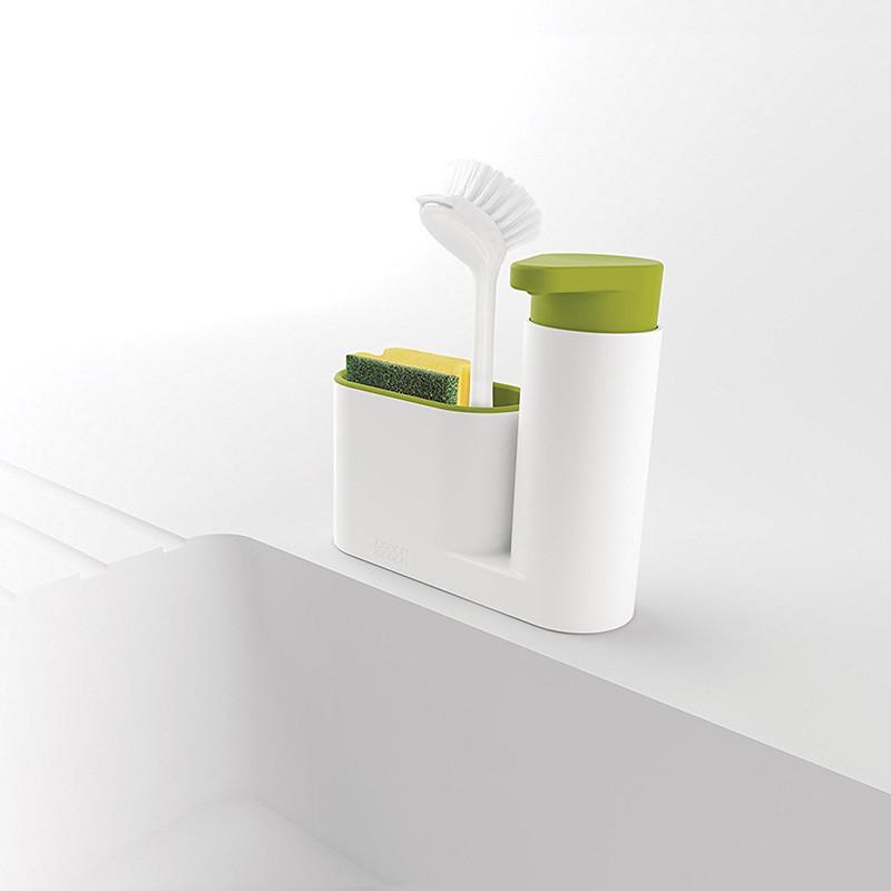 ТОП ВЫБОР! Органайзер в ванную, диспенсер для мыла, подставка для зубных щеток, Sink Tidy Sey Plus 2 в 1, диспенсер дозатор для жидкого мыла, купить - СамеТо ТМ интернет-магазин sameto.com.ua в Днепре