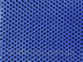 Сітка сумочно-взуттєва на поролоні артекс (airtex) колір синій
