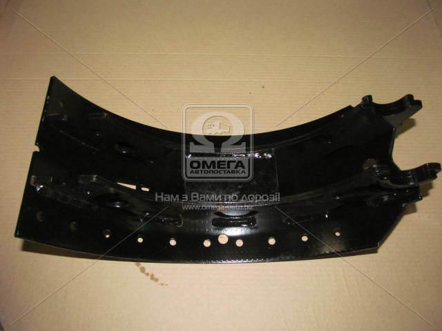 Колодка тормозная барабан новый тип с роликом 420х180 BPW (RIDER)