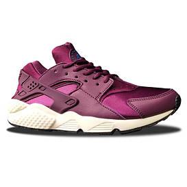 Женские кроссовки Nike Huarache Bordo