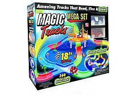 Гибкая гоночная трасса Magic Tracks 360 деталей Игрушка Трек