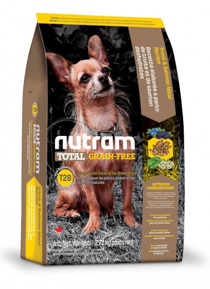 Nutram DOG GRAIN-FREE Salmon&Trout Small Breed 0.32 кг - беззерновой корм для собак мелких пород