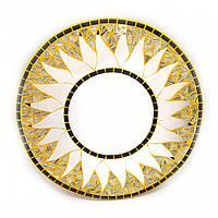 Зеркало на стену мозаичное Солнце