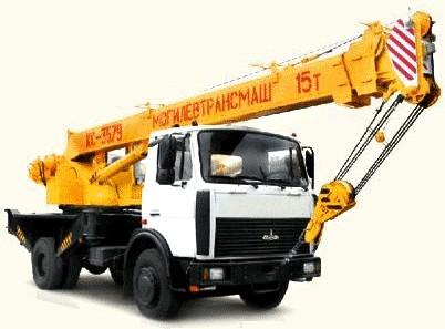 Автокран КС-3579 на шасси МАЗ-5337