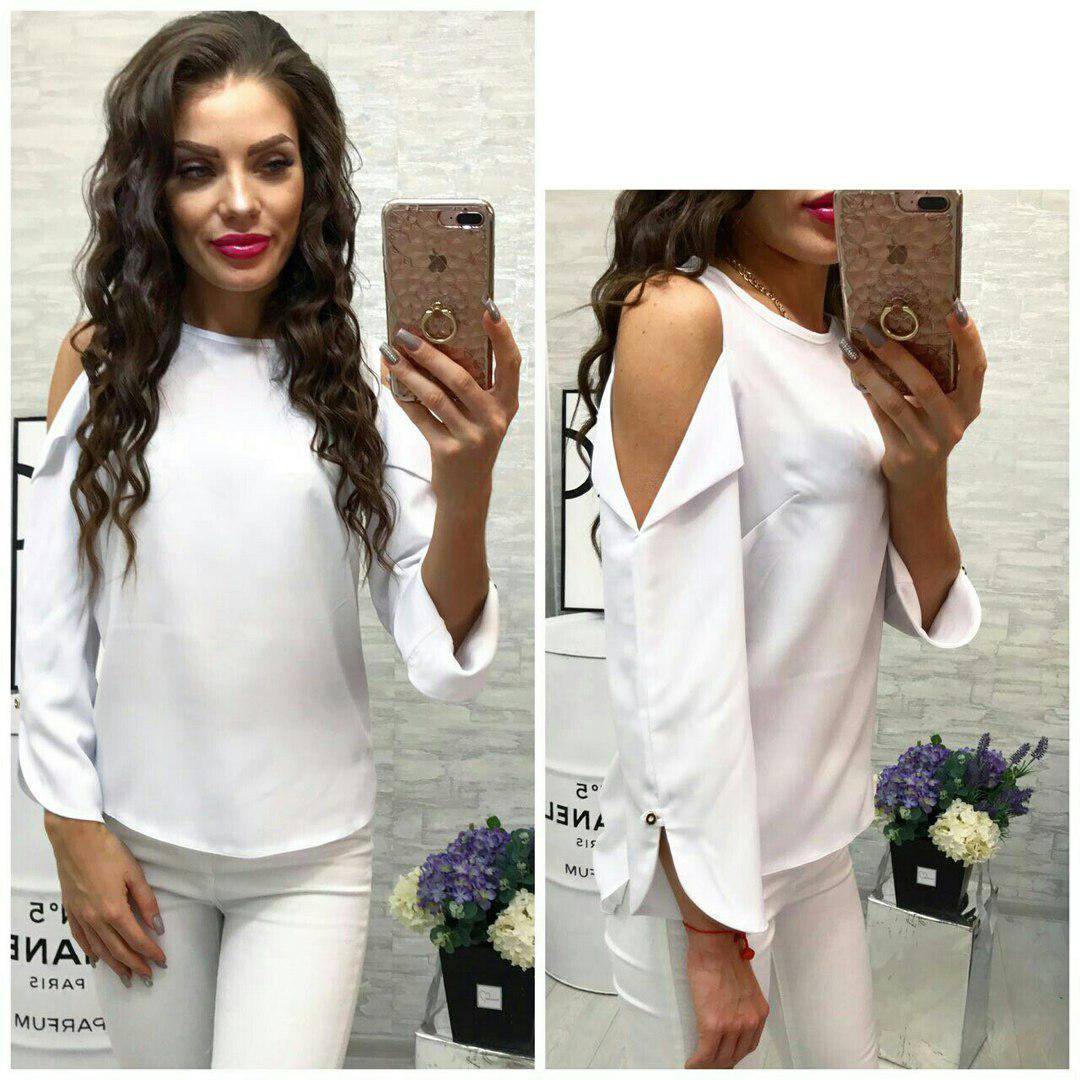 Блуза женская, модель 901/2, цвет - белый