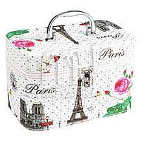 Чемодан, сумка, кейс для косметики, средний П-Р