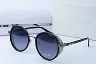 Круглые женские солнцезащитные очки Jimmy Choo 8622 серые