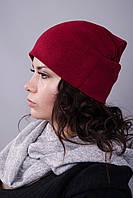 Фэшн. Женские шапки. Бордо.