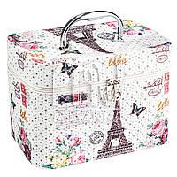Чемодан, сумка, кейс для косметики, большой П-Б