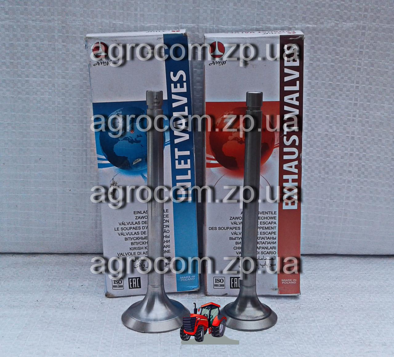 Комплект клапанів МТЗ-80, Д-240 впускний і випускний