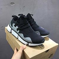 Мужские кроссовки Nike Pocket Knife DM Black Grey Реплика