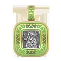 Образок Владимирская икона Божией Матери.