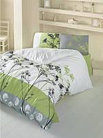 Комплект постельного белья LightHouse Belezza 200x220 зеленый