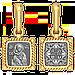 Образок Владимирская икона Божией Матери., фото 2