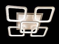 Светодиодная люстра с пультом-диммером белая 2281-4+1, фото 1