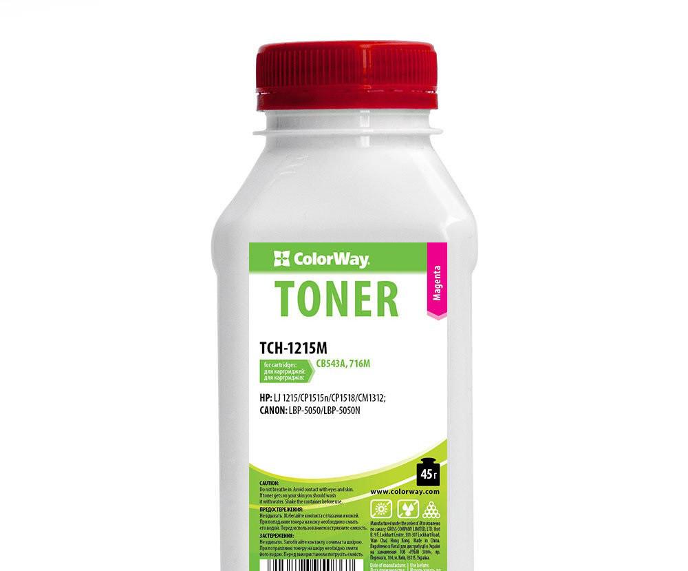 Тонер ColorWay TCH-1215M
