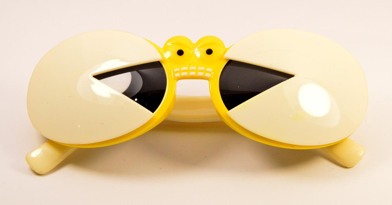 """Детские очки """"Крабик"""" (Р5013 жел-бел)"""