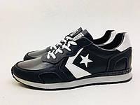 Мужские кроссовки Converse черно-белые