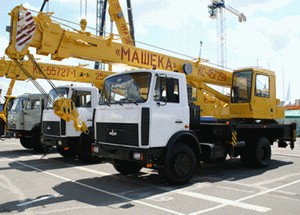 Автокран КС-45729А на шасси МАЗ-5337