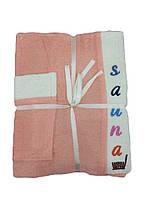 Набор для сауны и бани женский (3 предмета)
