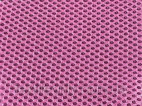 Сітка сумочно-взуттєва на поролоні артекс (airtex) колір рожевий
